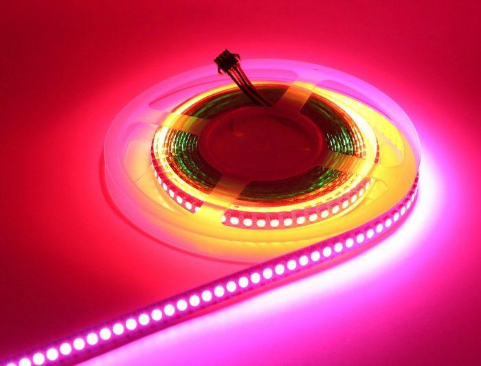 LED pásy, farebné LED RGB pásky